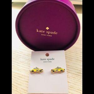 🎀 BNWT Kate Spade Ma Cherie Taxi Stud Earrings